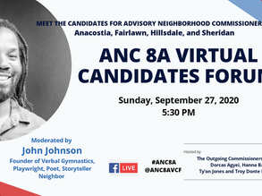 ANC 8A 2020 Candidates Forum