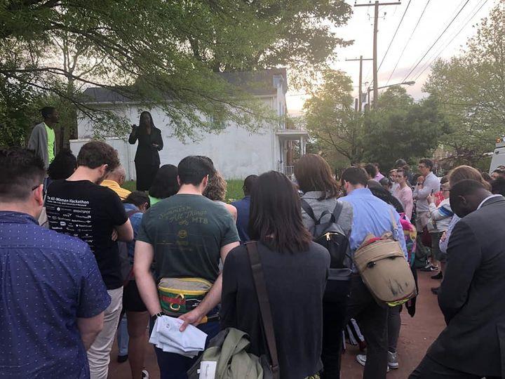 Vigil for Abdul Seck