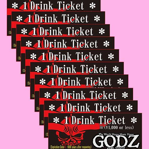 GODZ Drink Ticket ×10