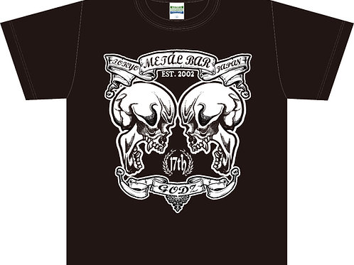 GODZ Twin Skulls T-shirt