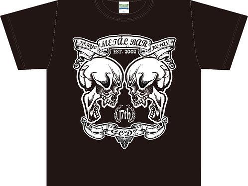 GODZ Twin Skulls T-shirt