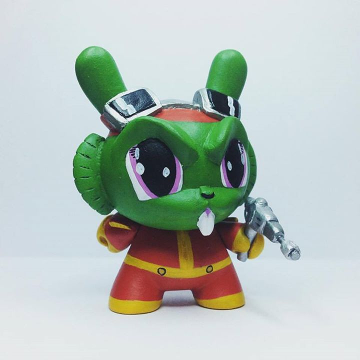 Custom Captain Bucky O'Hare Munny comple