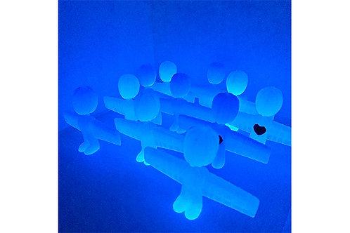 Blue Glow Angel
