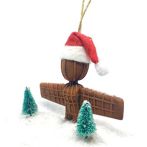 Santa Wor Angel Bauble