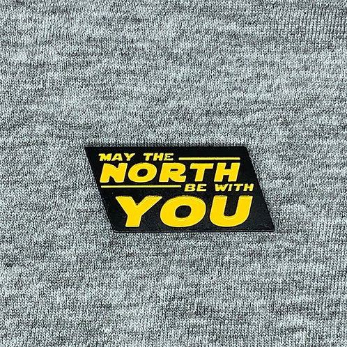 May The North Be With You Soft Enamel Pin