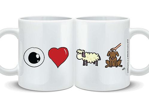 I Love EWE Pet! Mug