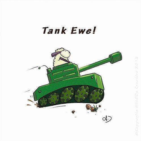 Tank Ewe!