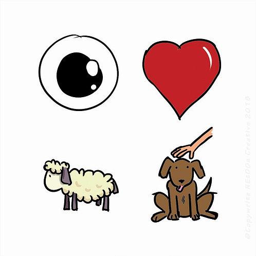 I Heart EWE Pet