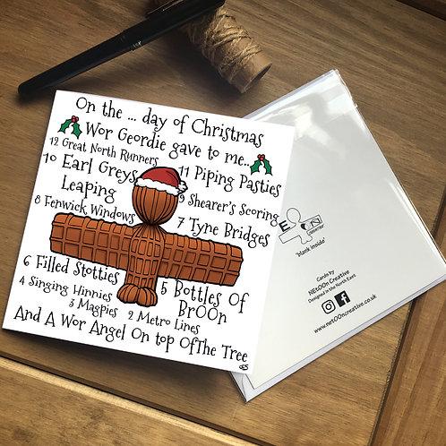 Geordie Days of Christmas