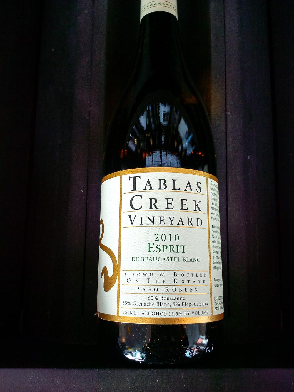 Tablas Creek wine at Hanging Ditch wine merchant in Manchester, England