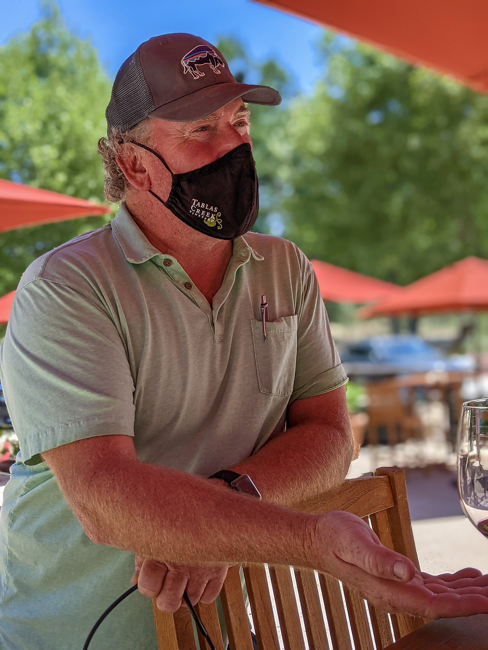 Ray King, Tablas Creek tasting host