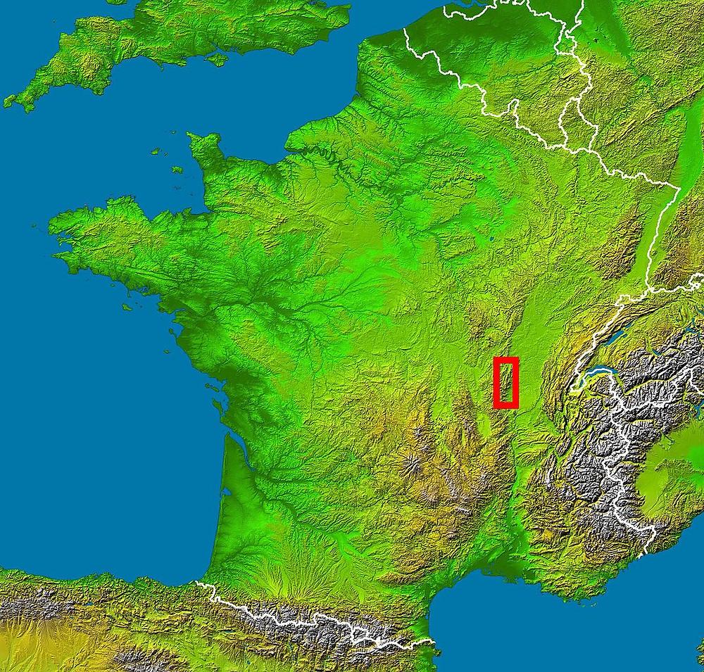 Beaujolais Region of France