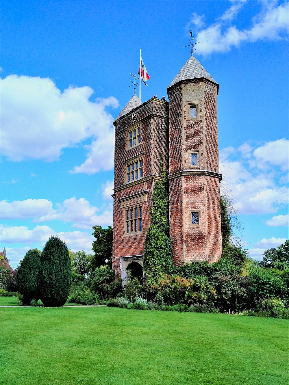 The 16th century Tower at Sissinghurst Castle