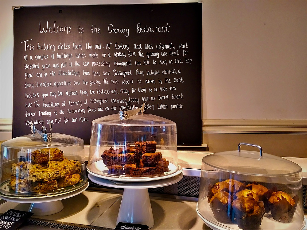 Fresh-made offerings at the Granary Restaurant