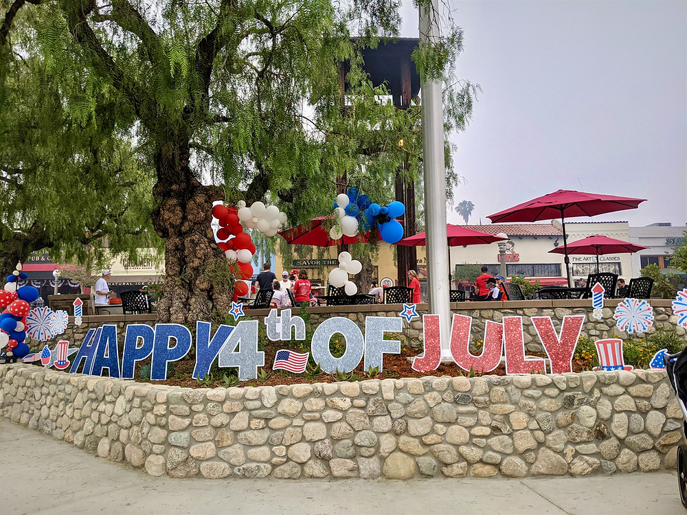 4th of July in Sierra Madre California