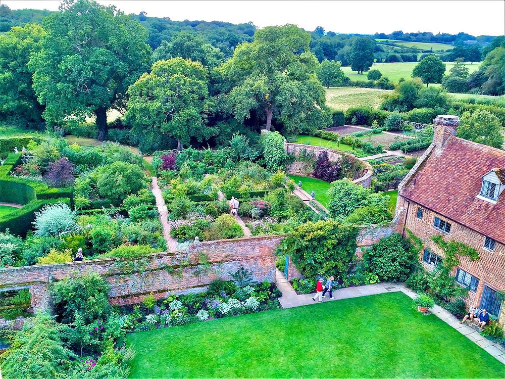 Garden Rooms at Sissinghurst Castle Garden