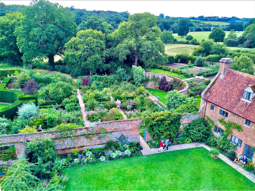 Sissinghurst Castle Garden was Cultivated with Love