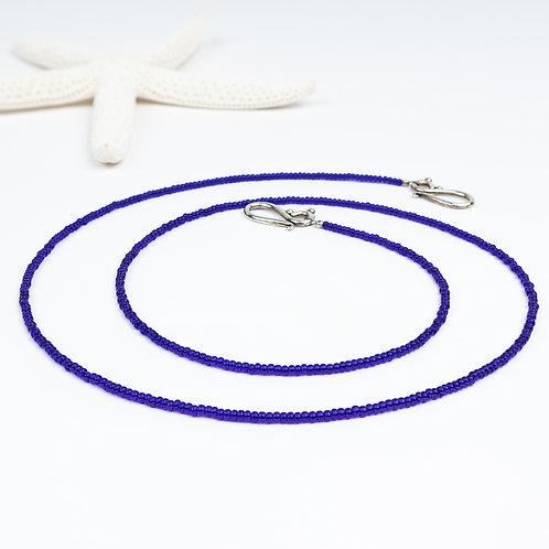 Deep Blue Ocean Beaded Chain