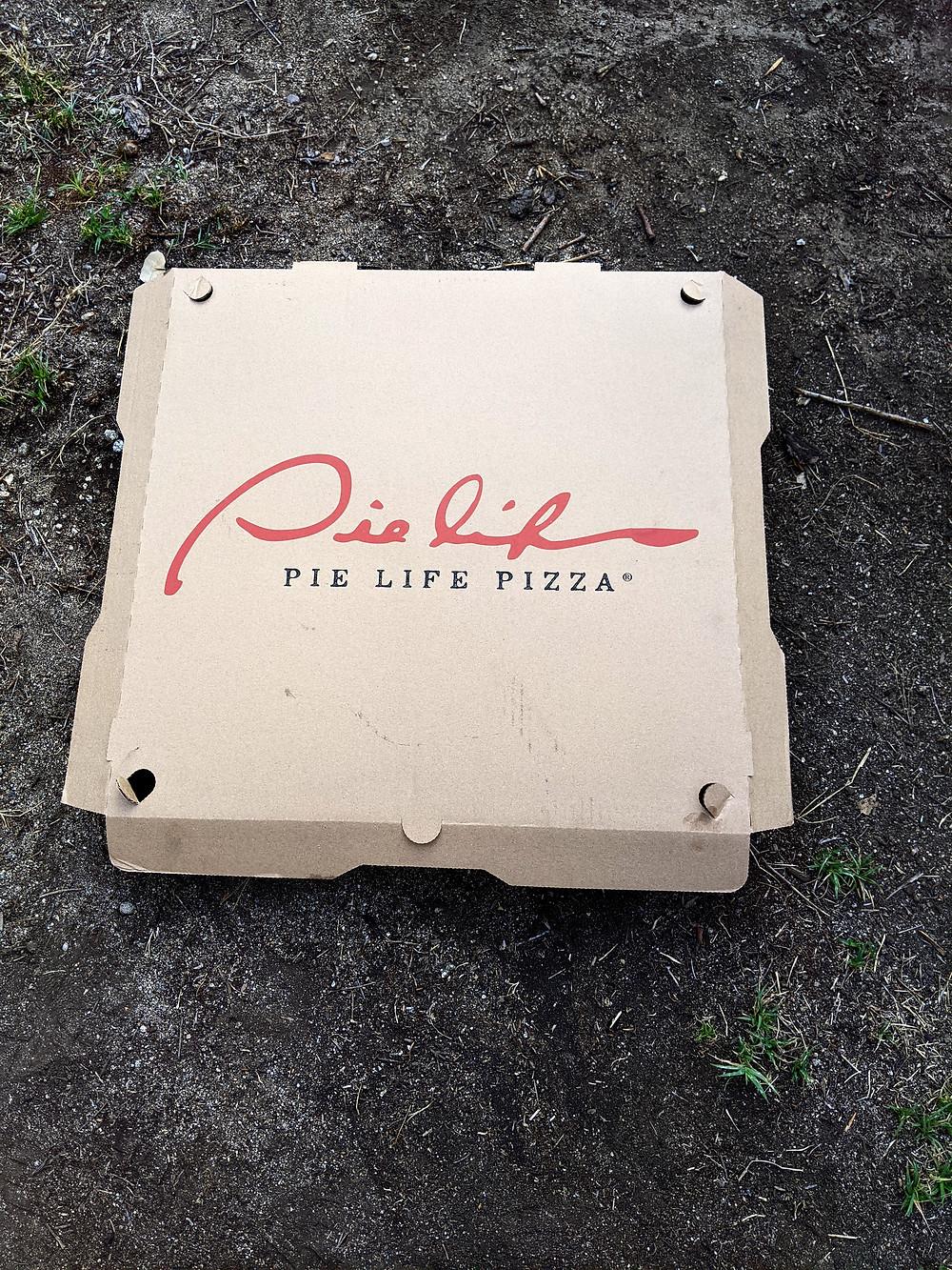 Pie Life Pizza box