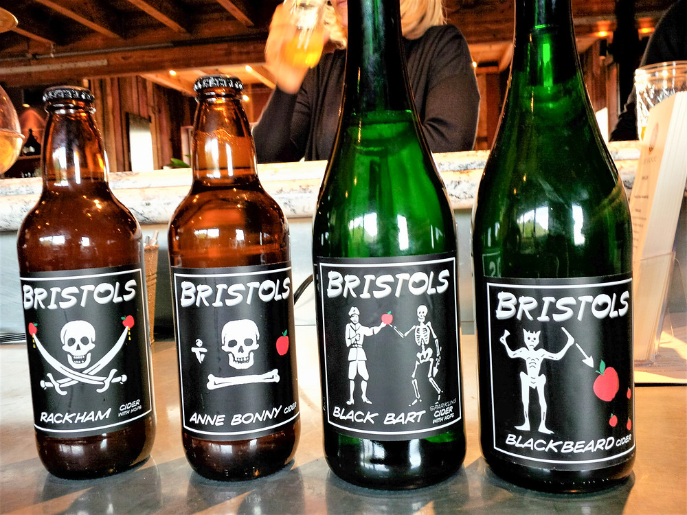 Hard cider at Bristols Cider House, Atascadero 2015