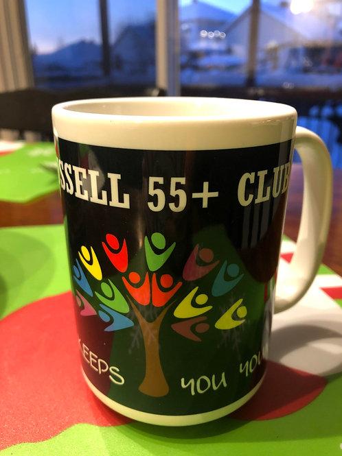 Russell 55+ club-coffee mug