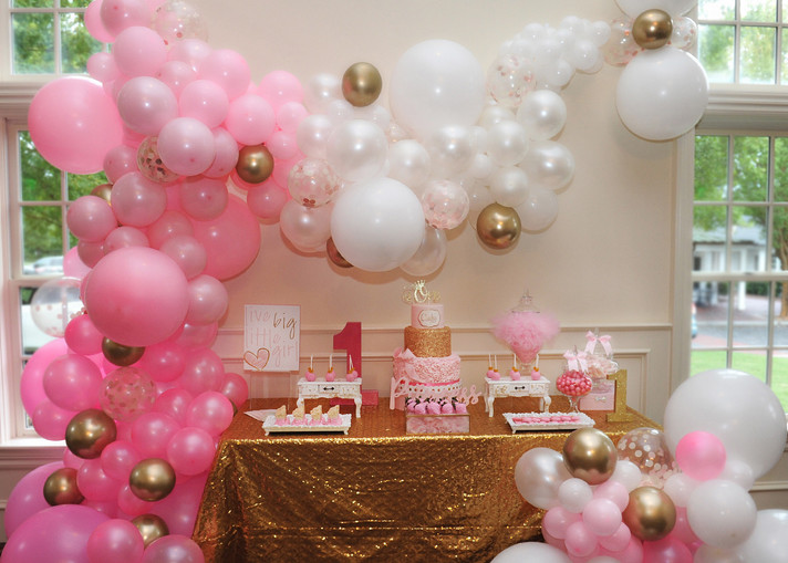 Charley's 1st Princess Birthday Party