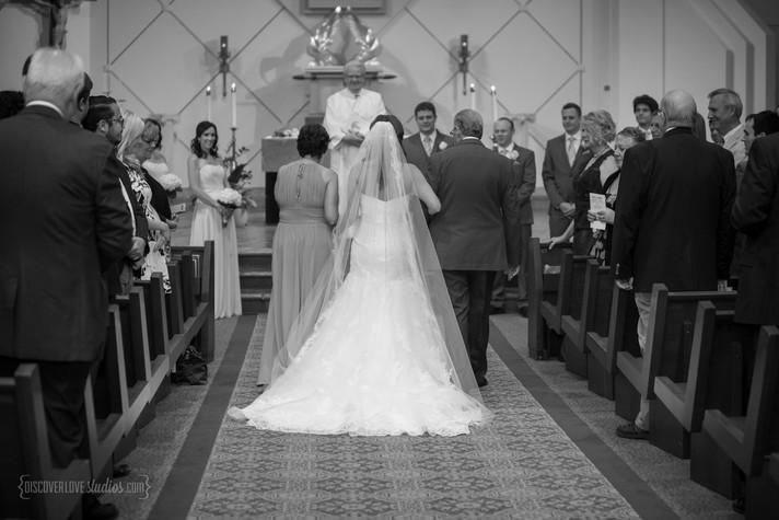 Kate and Chris Wedding Day