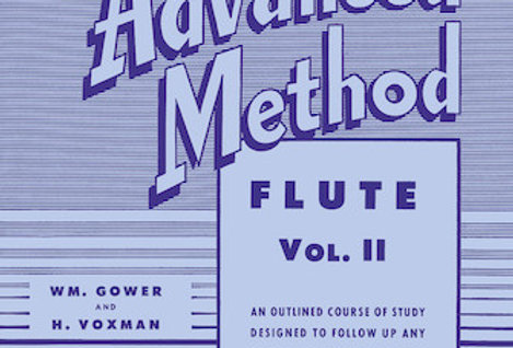 Flute Rubank Advanced Method Vol. II