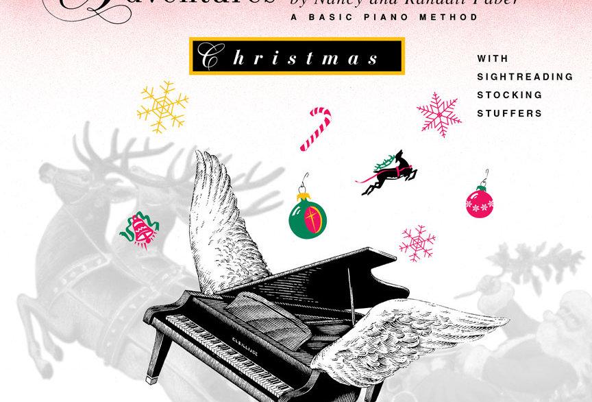 Piano Adventures: Christmas Book Level 1