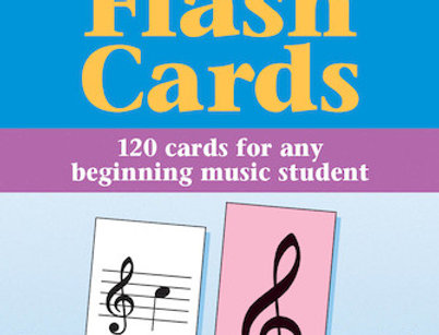 Hal Leonard - Music Flash Cards - Set A