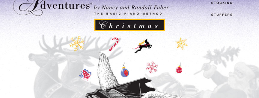 Piano Adventures: Christmas Book Primer Level