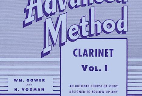 Clarinet Rubank Advanced Method Vol. I