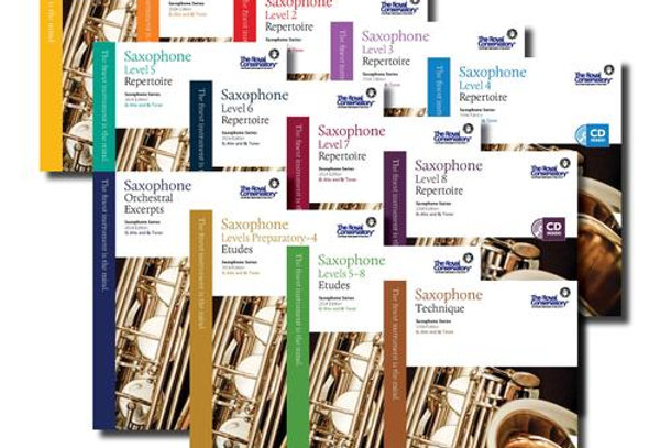 Saxophone Series Complete Set