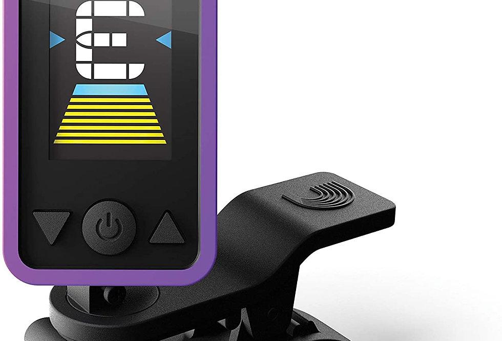 D'Addario Accessories Eclipse Headstock Tuner, Purple