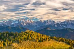 Grand Tour Europa, Alpes Austríacos