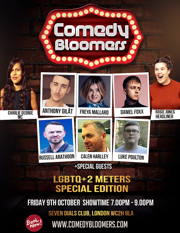 COMEDY BLOOMERS 9TH OCTOBER 2020 FINAL F