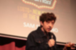 SAM SERRANO RUNNER UP LGBTQ NEW COMEDIAN