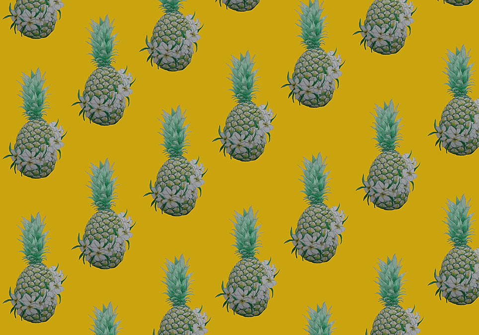 Independent Pineapple Wallpaper Sample.j