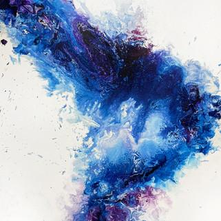 Acrylic painting, 80x60 (cm), 2020