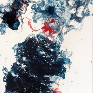 Acrylic painting, 40x32 (cm), 2020