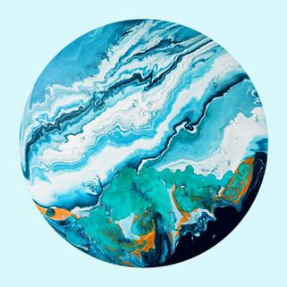 Acrylic painting, 50x50 (cm), 2020