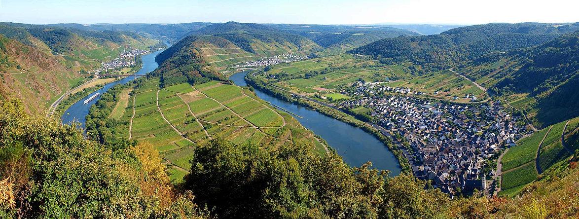 Moselschleife in Rheinland-Pfalz