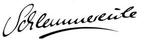 Schlemmereule Schriftzug