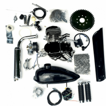 ZEDA - 66/80CC TRIPLE 40 FULL ENGINE KIT - BLACK