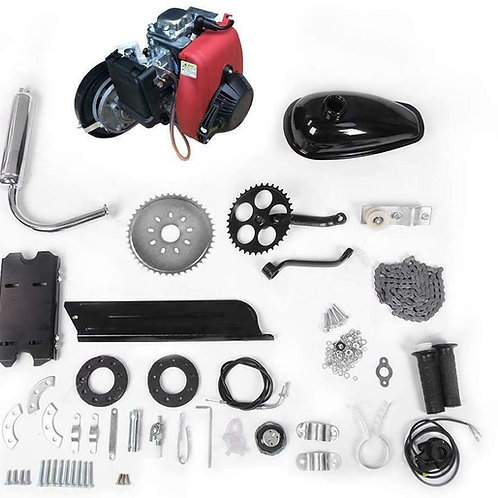 49CC 4 STROKE FULL ENGINE KIT (RED) W/ 7G T-BELT TRANSFER