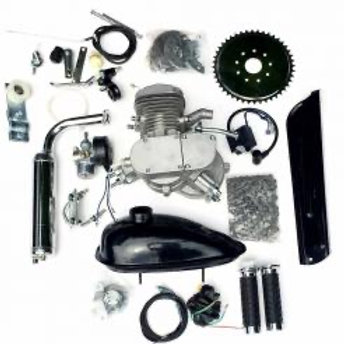 ZEDA - 66/80CC TRIPLE 40 FULL ENGINE KIT - SILVER
