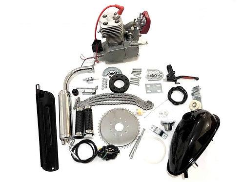 YD100 ZEDA - 78/100CC FULL ENGINE KIT - SILVER