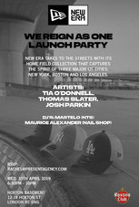 WE REIGN AS ONE LAUNCH PARTY X NEW ERA X Tia O'Donnell.