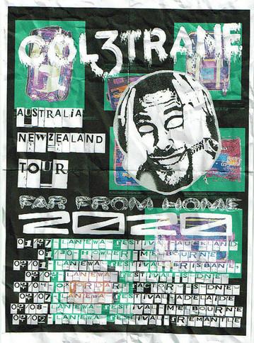 COLETRANE TOUR POSTER X Tia O'Donnell