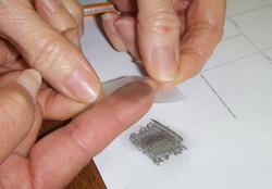 fingerprint--tape